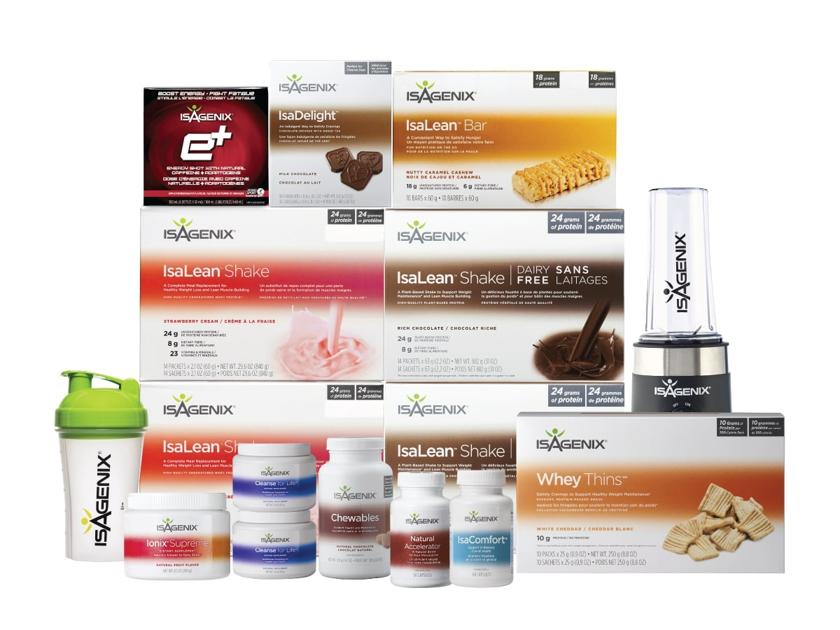 The Isagenix 30 Day Premium Pack