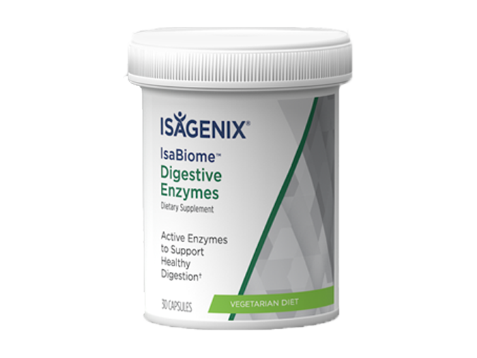 Isagenix IsaBiome Digestive Enzyme