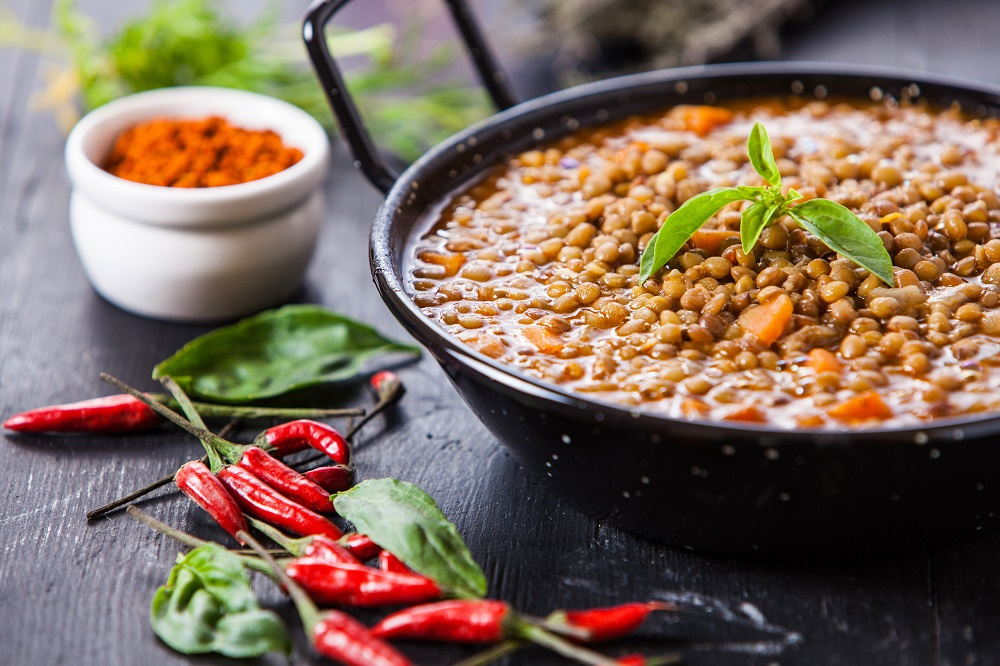 Indian style lentil soup can reduce belly fat