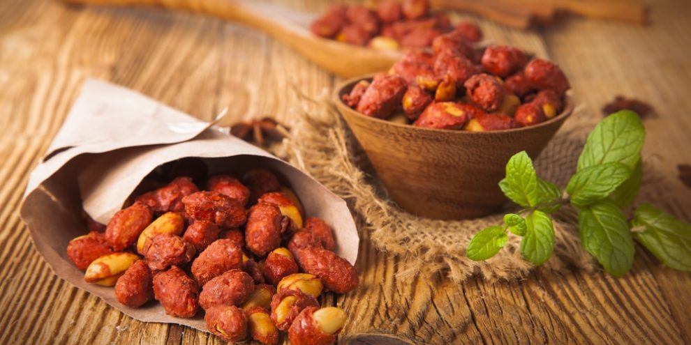 Honey roasted peanuts are one example of a hyperpalatable food