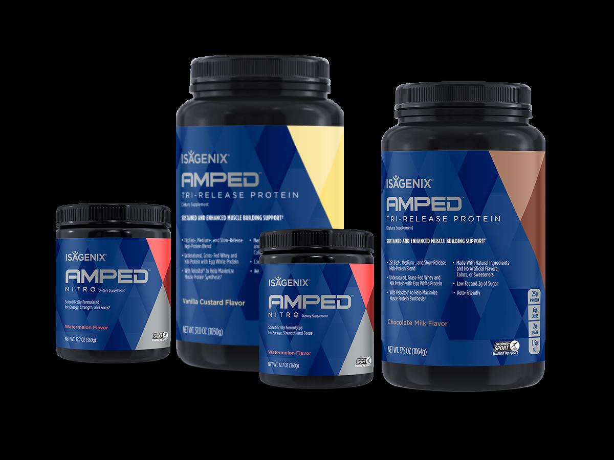 Isagenix AMPED Core Bundle