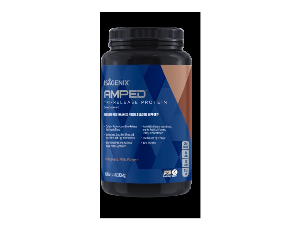 Isagenix AMPED Tri-Release Protein