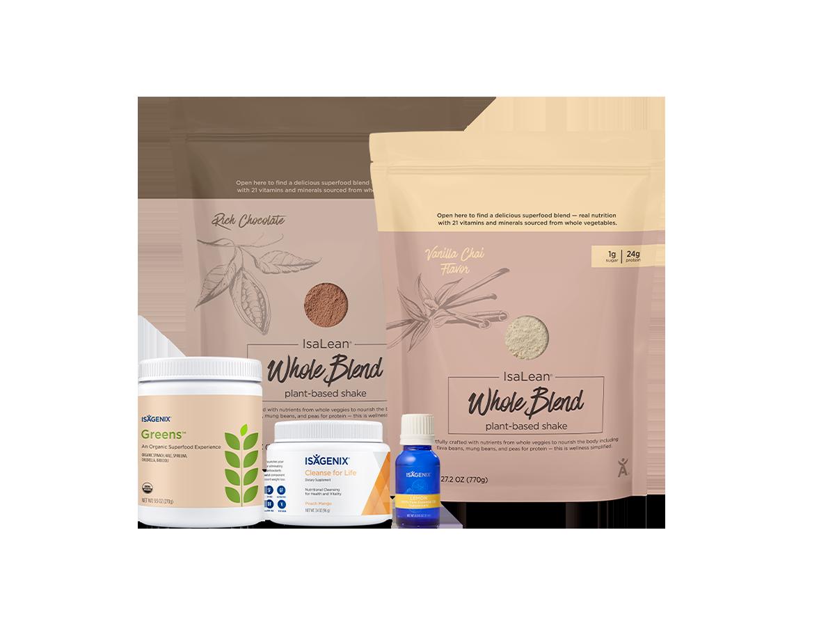 Isagenix Plant-Based Mini Pack