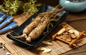 Asian Ginseng helps boost the immune system.