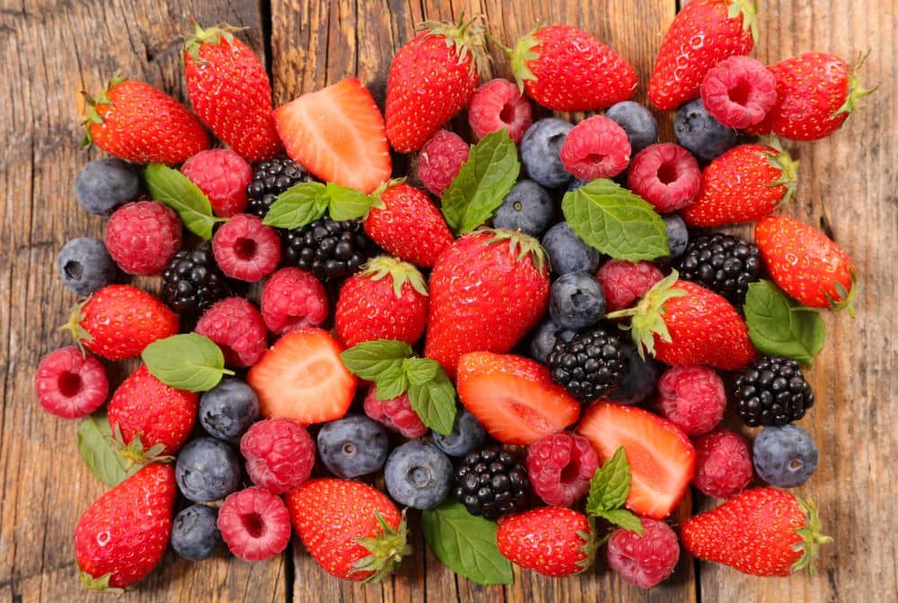 Some of the most popular berries