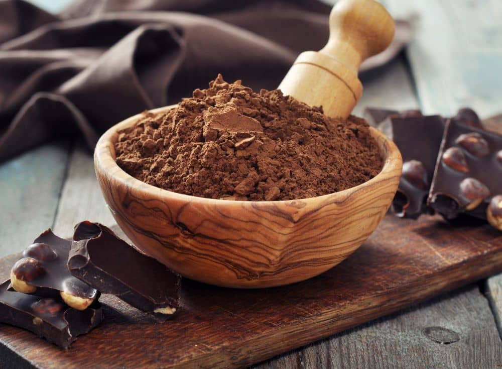 Carob is naturally sweet and can be used substitute for chocolate.