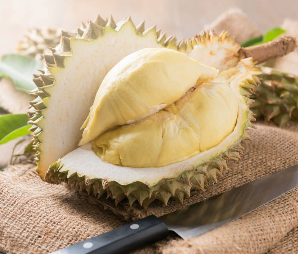 Durian is known for its rich supply of vitamins and minerals