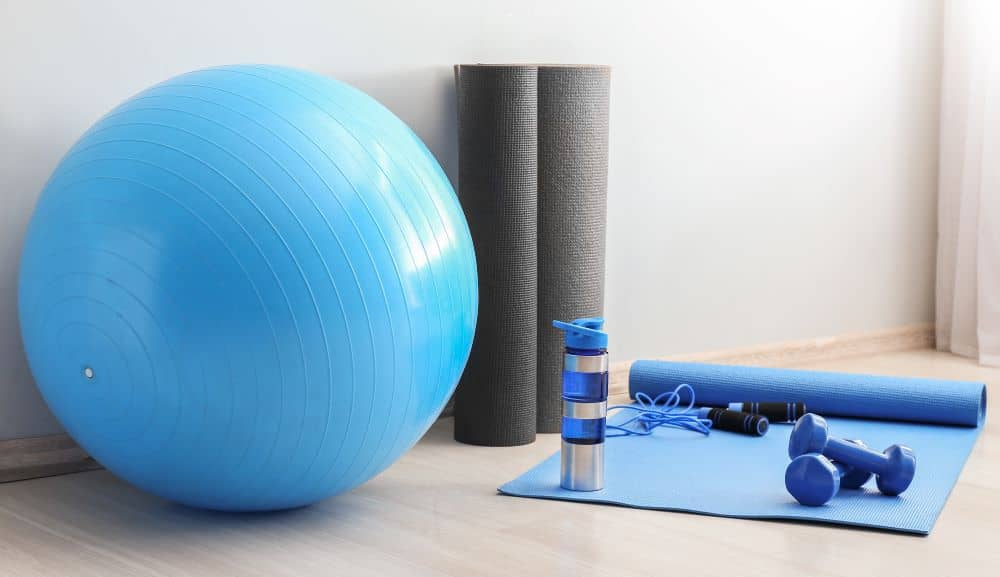 There are many home exercises that are equipment-free, but having the basics makes them easier.