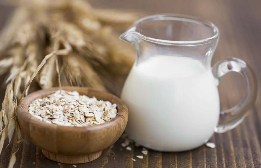 Oat milk has high levels of carbohydrates than other milk alternatives but contains no saturated fats.