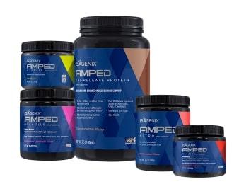 Isagenix AMPED Next Level Pack.
