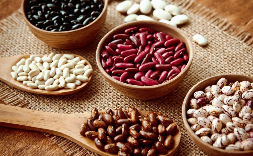 Beans are gluten-free and are inexpensive source of protein.