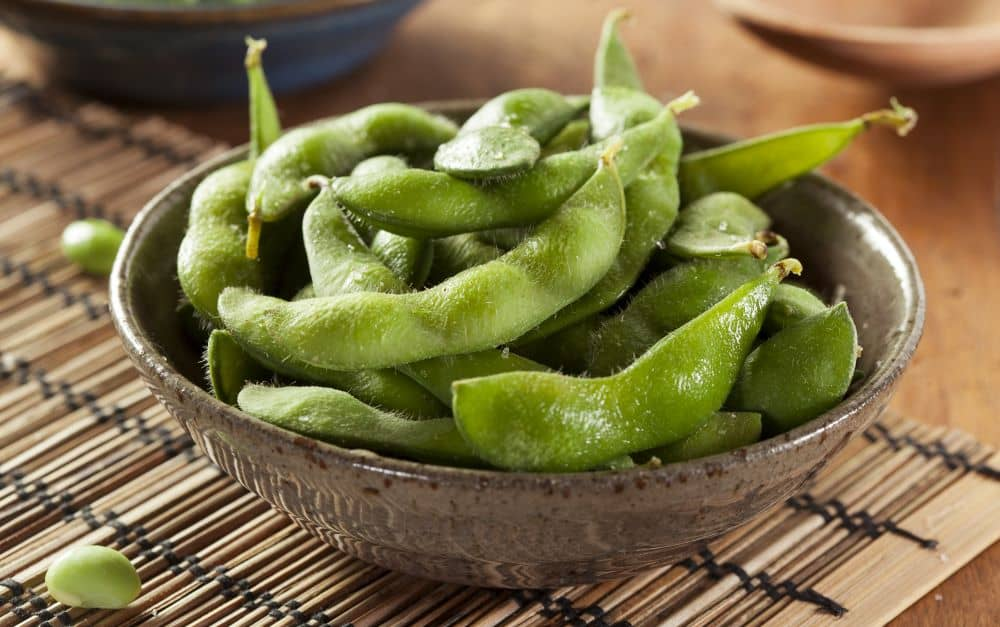Edamame is a good source of protein and has all essential amino acids.
