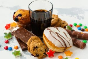 Foods high in sugar can have detrimental health effects.