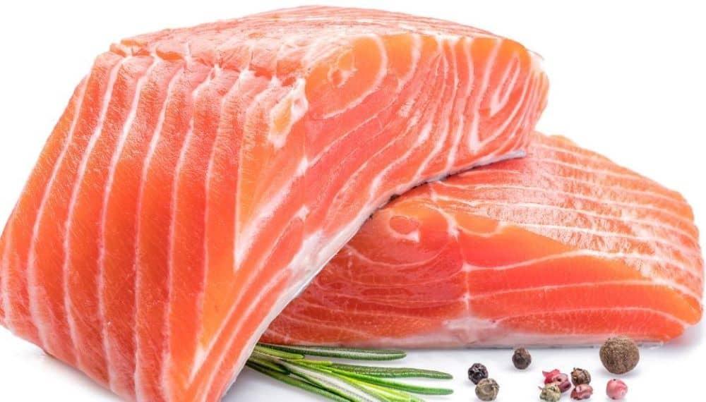 Fatty fish is a rich source of fatty acids which is considered good fat.