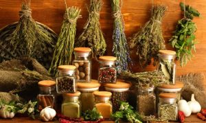 Using dried herbs and spices adds unique flavours to our food.