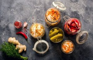 Fermented foods are rich in probiotics.