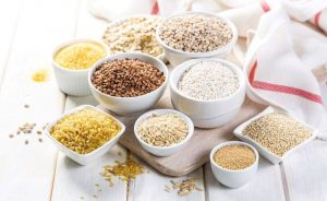 Whole grains have high fibre content which helps lower blood pressure and cholesterol.