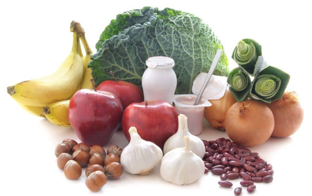Prebiotic foods.